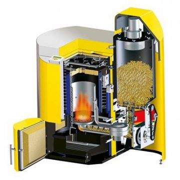 Θέρμανση με βιομάζα